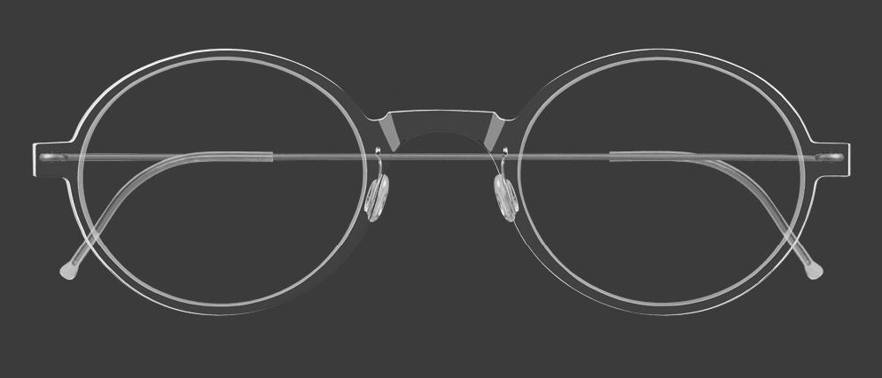 Air Titanium Rim Glasses Catalog, by Lindberg